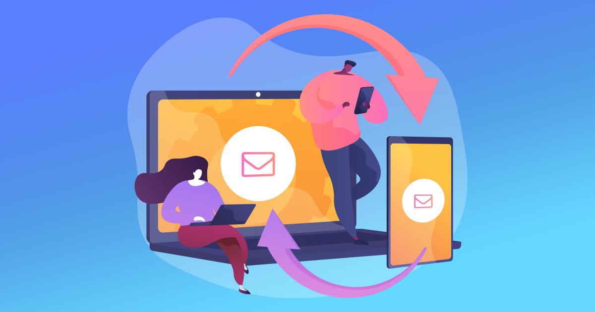 Slik sender du SMSer fra datamaskinen eller nettbrettet ditt